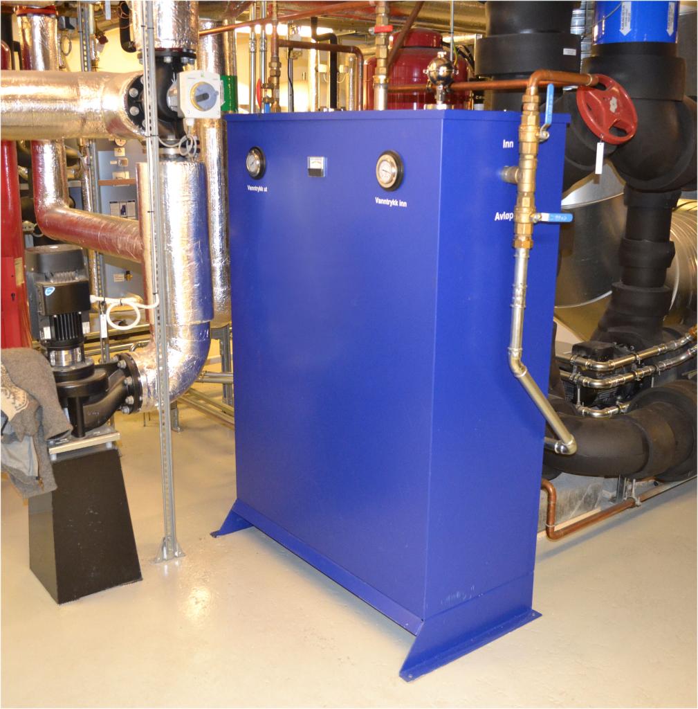 Tratamiento de Agua / Control Corrosion Para circuitos de Climatización (HVAC) Series C4S