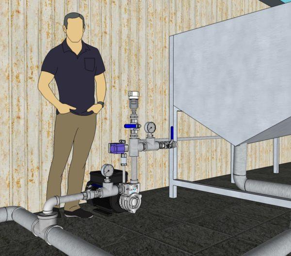 Bomba de Microburbujas, Bomba DAF, Generador de nano burbujas, inyección de oxigeno y ozono, sistema de Aireación, oxigeno disuelto, OD