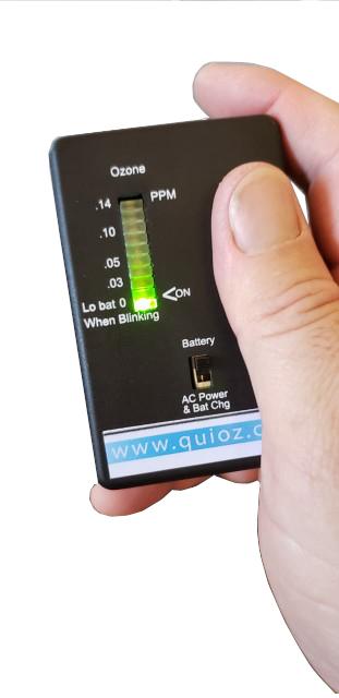 Monitor de ozono ambiental, medir ozono en el ambiente, medición de ozono ambiental, medición de ozono en el aire, alarma de ozono, detectar ozono en el aire, detección de ozono ambiental, sensor de ozono